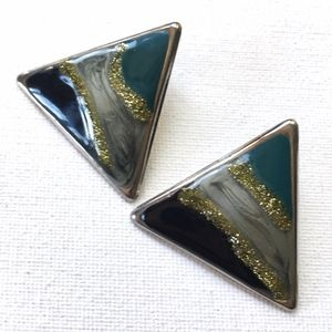 ⭐️ 3 for $15 ⭐️ Vintage Triangle Statement Earring